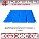 Colorear la hoja larga del material para techos del palmo del metal acanalado revestido