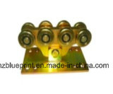 Roue en porte-à-faux de grille avec 8 roues, roue de porte coulissante de laminage des métaux