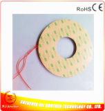 runde elektrische Auflage-Silikon-Heizung der Heizungs-24V