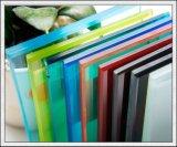 O leite/azul/verde/rosa/Bronze Vidro laminado de vidro de segurança para a construção