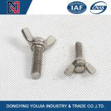 dans le meilleur boulon de Scrow d'aile d'acier inoxydable des prix DIN316 de fournisseur chinois courant avec la noix