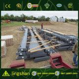 ISO9001: 2008 Estructura de acero aprobada Edificio modular hecho en China