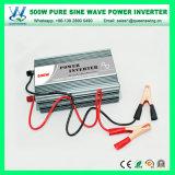 Convertisseur de pouvoir outre de l'inverseur pur d'onde sinusoïdale du réseau 500W (QW-P500)