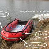 Liya 2m tot 7m de Opblaasbare Boot van de Boot PVC/Hypalon van de Buis