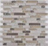 Eis-Crack Glas und Stein-Mischungs-Mosaik