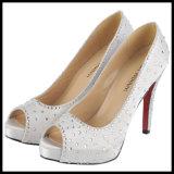 Новый вертикально Diamond дамы-платья обувь