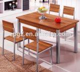 직사각형 Dining Table 및 Restaurant Furniture (DT-15)를 위한 Chair
