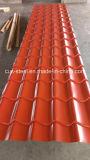 Hoja de acero revestida de la azotea de la azotea Panel/PPGI de la placa de azotea del color/del metal del color