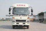 Camion refrigerato marca di Sinotruk con il tipo di azionamento 4X2 che refrigera Van Cooling Truck