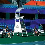 Tennis-Gerichts-Möbel-Schiedsrichter-Stuhl-Spieler-Prüftisch