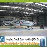 Hangar estructural de acero superficial exquisito del aeroplano