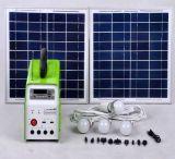 Sistema eléctrico solar con la radio