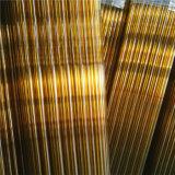 Bernsteinfarbiges Glasgefäß für Ampullen-Produktion