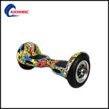 10 pollici Smart Self Balance Scooter Street Dance Skateboard Electric Scooter Smart Boards Hoverboard con Manual+Charger+Bag