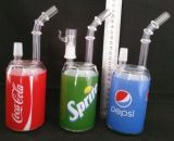 Pipes blanches de plates-formes pétrolières de jade de l'eau en verre 8 d'aliments de préparation rapide ''