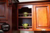 Дверь кухни твердой древесины типа Америка (zq-003)