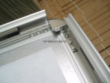 Aluminium, un cadre signale un cadre instantané, un panneau de carte, un cadre en forme de cadre, pliant un panneau à un cadre avec un châssis à fond plat