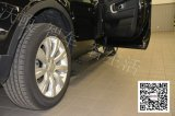 Range rover ostenta a placa Running elétrica de etapa lateral da potência