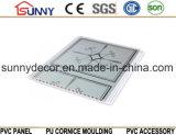 2016 Teto de PVC de estampagem quente, painel de PVC, materiais de construção telhas de teto