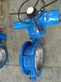 Valvola a farfalla del motore Dn400 Pn16 di Rotok dell'acciaio di getto (D943H-DN400-PN16)