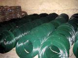 PVC 녹색과 다채로운 입히는 직류 전기를 통한 철 철사