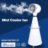 Um eléctrico exterior-4c neblina de água por evaporação do ventilador do arrefecedor de ar