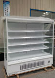 Slimline abrir a caixa de indicador Refrigerated para a leiteria e as bebidas do supermercado