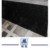 Polidos Shanxi granito preto bancadas de ladrilhos de pedra de calçada Tombstone