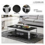 Tabella di tè domestica moderna di vetro Tempered della mobilia