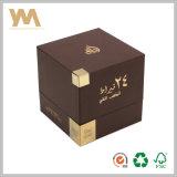 Rectángulo de regalo cosmético duro de la caja de embalaje del perfume del conjunto
