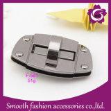 Hardware all'ingrosso degli accessori della borsa della serratura di girata del sacchetto della lega del metallo