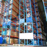 L'ISO a approuvé l'acier de très étroites Asile Rayonnage à palettes de stockage