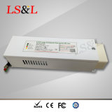 El uso de la fuente de alimentación del LED en luz del panel del LED y el LED abajo se encienden
