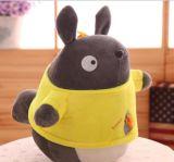 Jouets animaux de dessin animé mou de peluche pour le cadeau, jouets bourrés