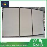 """80""""~200"""" UHD Cinema em Casa/3D/4K Curvo Ecrã de projecção de estrutura fixa/Tela do projetor"""