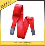 Полиэстер ремень на подъемнойпроушинеплоского ремня с помощью строп (NHWS-A)