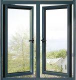 Perfil de aluminio Windows con el vidrio para el balcón Windows