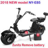 2018 heißer Verkaufs-entfernen der elektrische Stadt-Coco-Roller Ny-E85 mit 2units Batterie