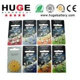 batteria della batteria dell'aria dello zinco del pacchetto di bolla 8PCS/protesi acustica (A10/A13/A312/A675)