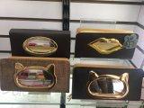 Les femmes en cuir pochette d'embrayage PU détenteur de carte sac sac à main avec design en verre