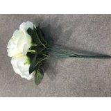 Silk Artificial Flower Camellia Bouquet Wedding Home Decoration party Decoration