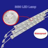 2700-12000K wärmen sich,/natürlich/Streifen- ablichter des kühlen,/reine des weiße Beleuchtung-Stab-18PCS 3030 Chip-Lampen-steife Vorstand-LED