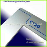 Fabrico personalizado de chapa de metal de alumínio de precisão para o painel do dispositivo