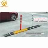 Colonna di ormeggio d'avvertimento di Delineator della strada con la base di gomma quadrata