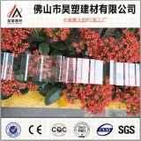 0.7mm中国の工場は840 930を波形を付けられる1050年のポリカーボネート指示し温室および育成の小屋のためのシートに屋根を付ける