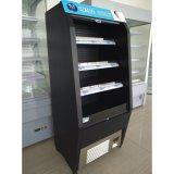 冷たい飲み物のためのスーパーマーケットのMultideckの表示開いたスリラー