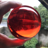90mm Dsjuggling acrílico rojo Magic Ball Bola Malabares de contacto
