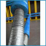 Encofrado de acero de la pared del material de construcción para la construcción
