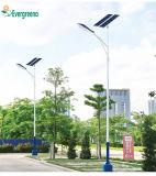 LED double pôle d'armes rue lumière solaire