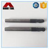 Long couteau en métal d'extrémité de bille de partie lisse de carbure fin de qualité